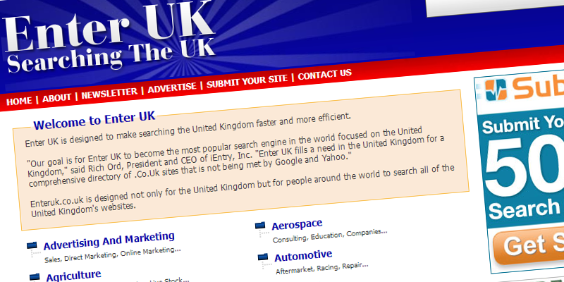 List of Business Listing Sites in UK