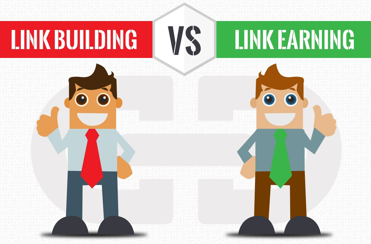 Link Building vs Link Earning