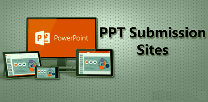 PPT-Submission-Sites