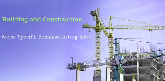 Building And Construction-Niche Specific Business Listing Sites