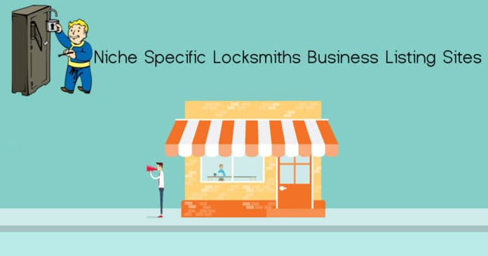 Locksmiths business listing sites