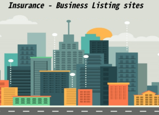 Insurance business listing sites